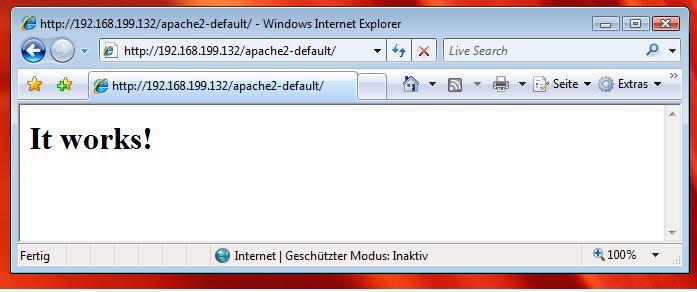 LAMP auf Debian Etch Linux Apache MySQL PHP